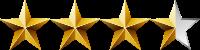 THREE-HALF-STARS 200x50